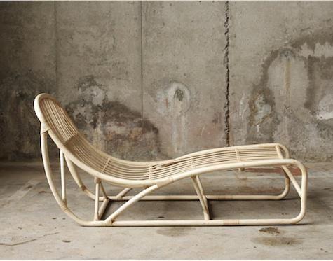 Mebel Muubs V Danii Remodelista Minimal Furniture Furniture Rattan Lounger