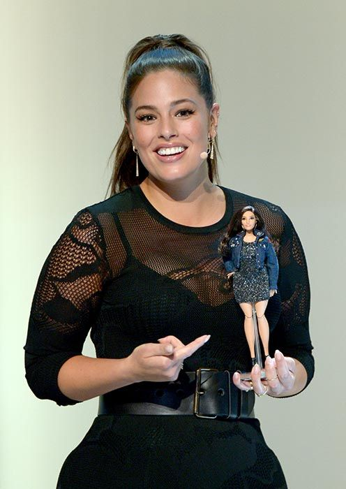8590ef57324e3 Ashley Graham gets a Barbie made to her measurements