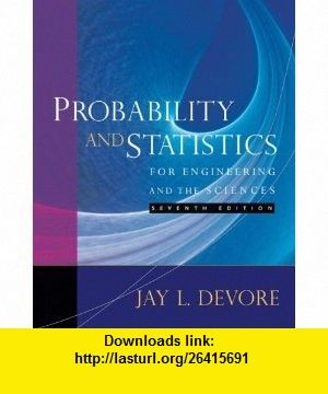 Student Solutions Manual For Devores Probability And Statistics For