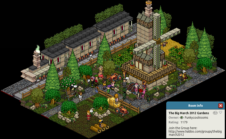 [Habbo Hotel] The Big March 2012