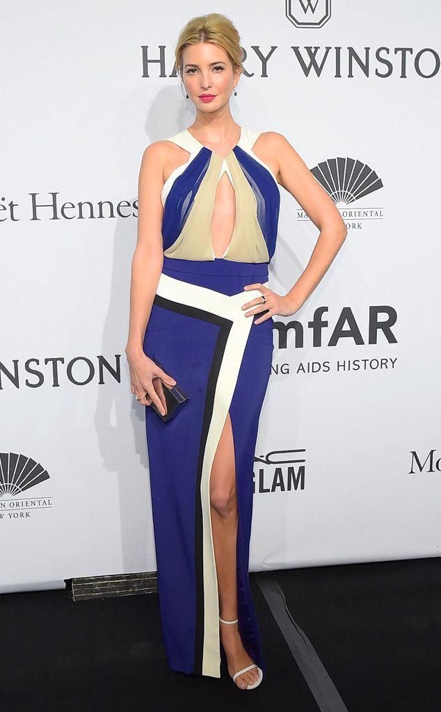 Ivanka Trump from Stars at the 2015 amfAR New York Gala