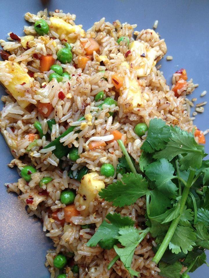 thai rice dishes | My favorite Thai dish Pineapple Fried Rice | Favorite Recipes