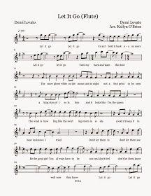 Flute Sheet Music Let It Go Sheet Music Music In 2019 Flute