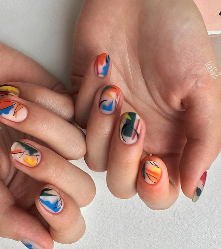 54 Exquisite Natural Nails Design for Short Nails – – Nails Design – #Design …