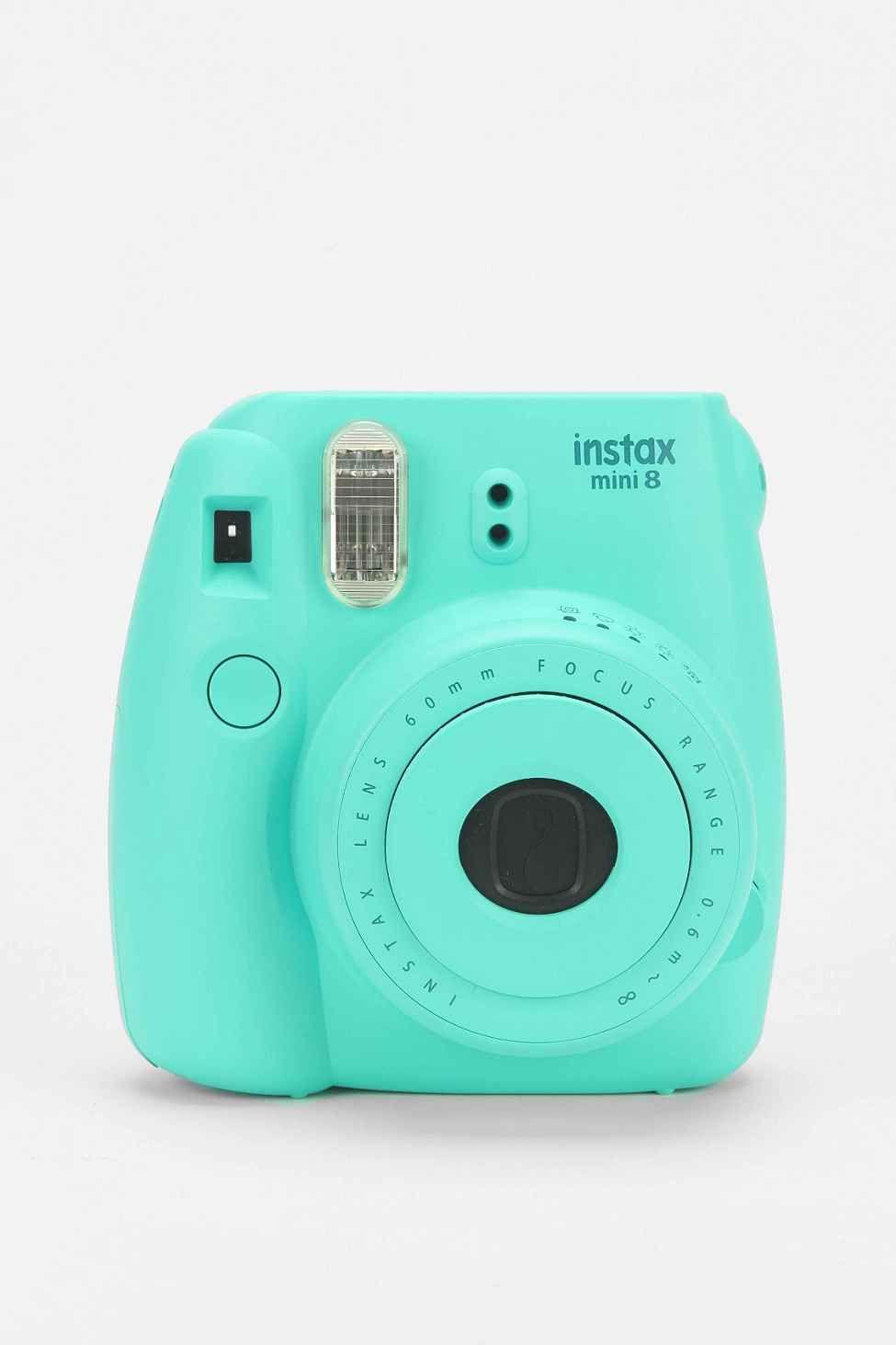 Fujifilm Instax Mini 8 Camera in Aqua - Urban Outfitters   Mini ... 8e314a3590