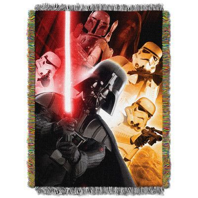 Northwest Co. Star Wars Classic the Empire Throw