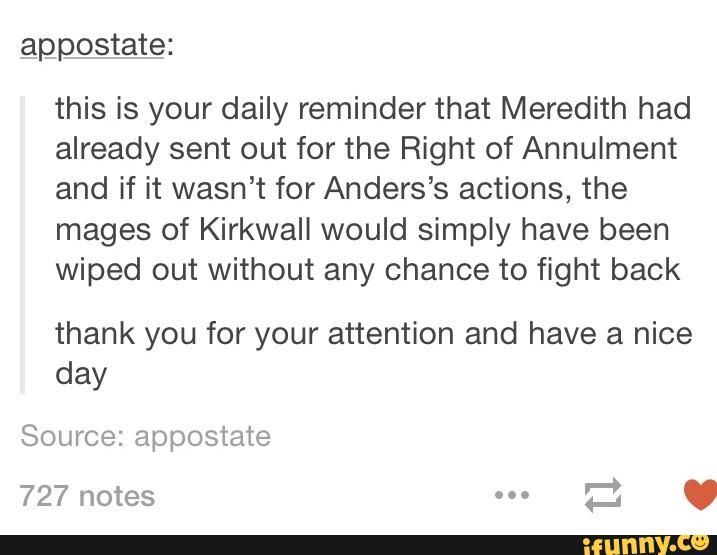To all the Anders haters... Yeah, read between the lines, she was already planning on it, Anders was just her scapegoat.