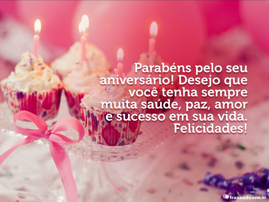 Parabéns E Felicidades Cunhada: Parabéns Pelo Seu Aniversário!