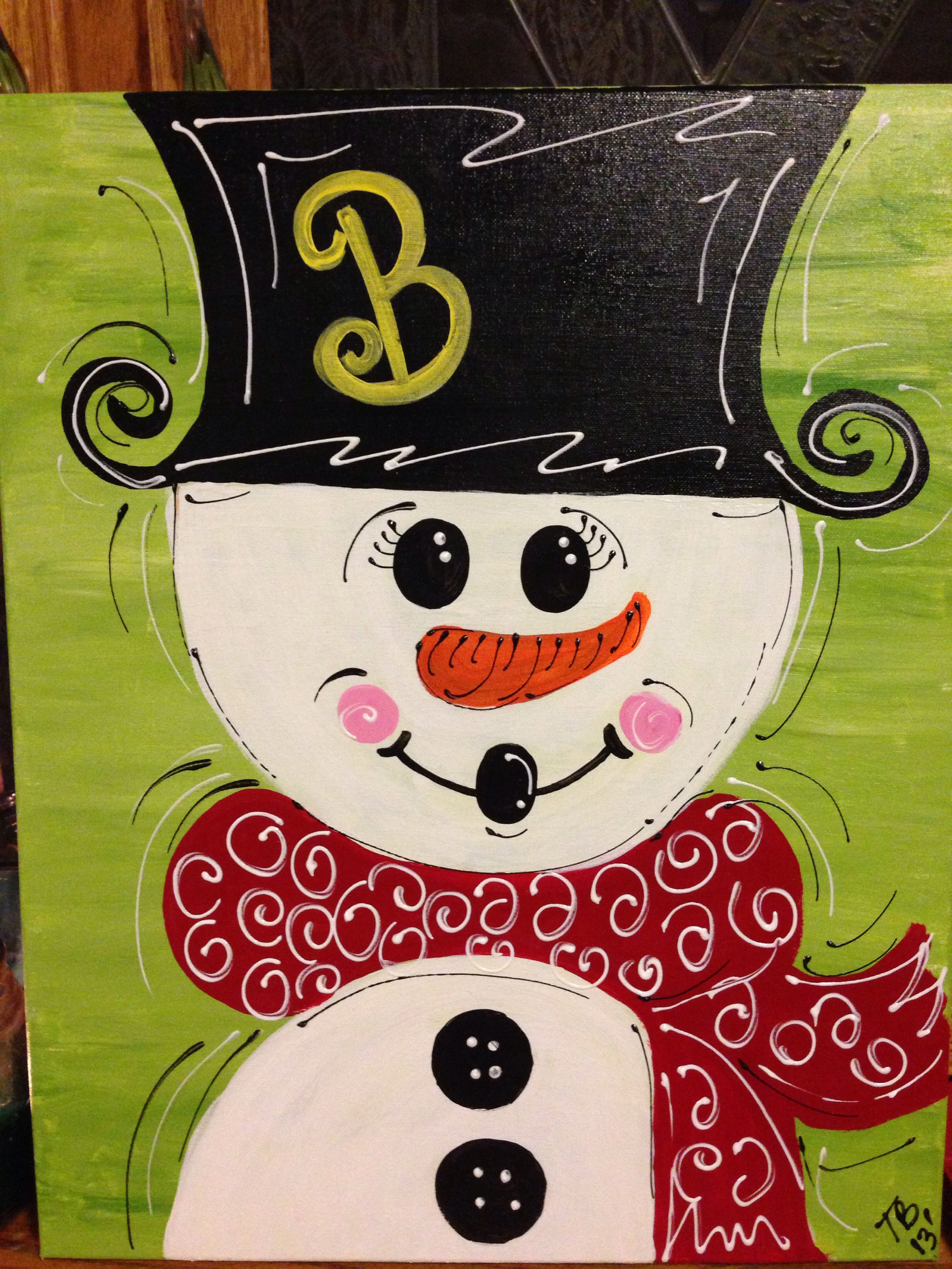 Canvas painting christmas ideas pinterest canvases for Christmas canvas painting ideas