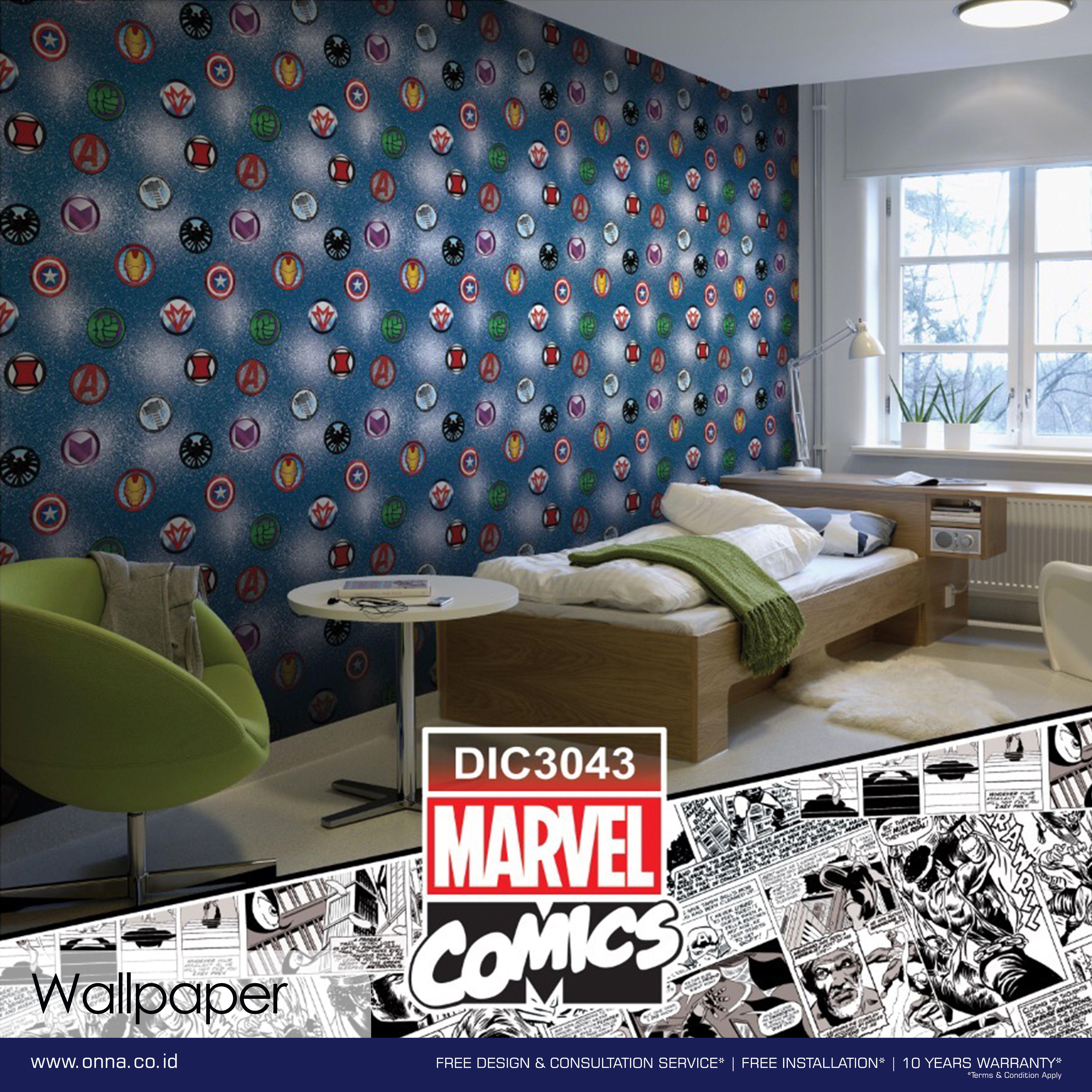 Manjakan Anak Anda Dengan Mendekor Ruang Mereka Dengan Wallpaper Dinding Yang Kini Tersedia Dalam Karakter Favoritenya Home Decor Design Wallpaper