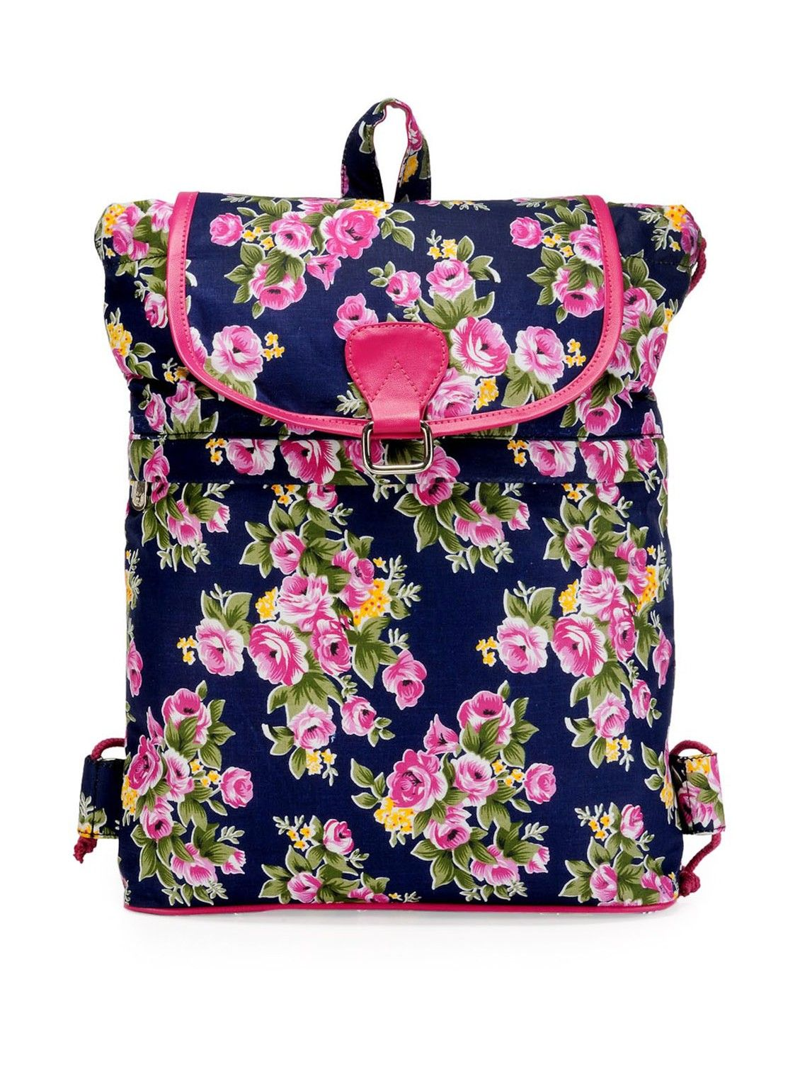 Stylish Floral Print Backpack