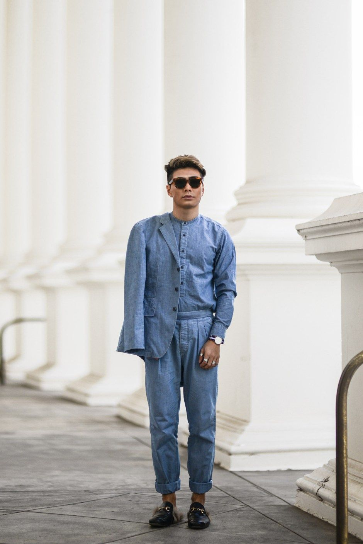Uniqlo X Lemaire Bloggers Boyfriend Clean Fashion Menswear Wardrobe Outfits