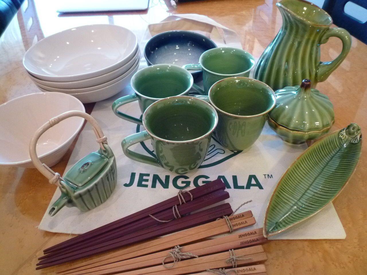 バリの陶器メーカー ジェンガラ