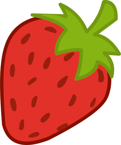 Strawberry Cutie Mark Strawberry Art Art Drawings For Kids Strawberry Clipart