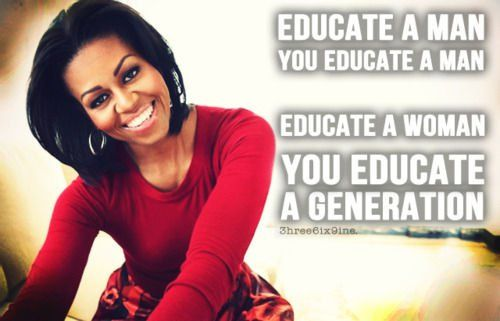 Michelle Obama Quotes On Women. QuotesGram by @quotesgram