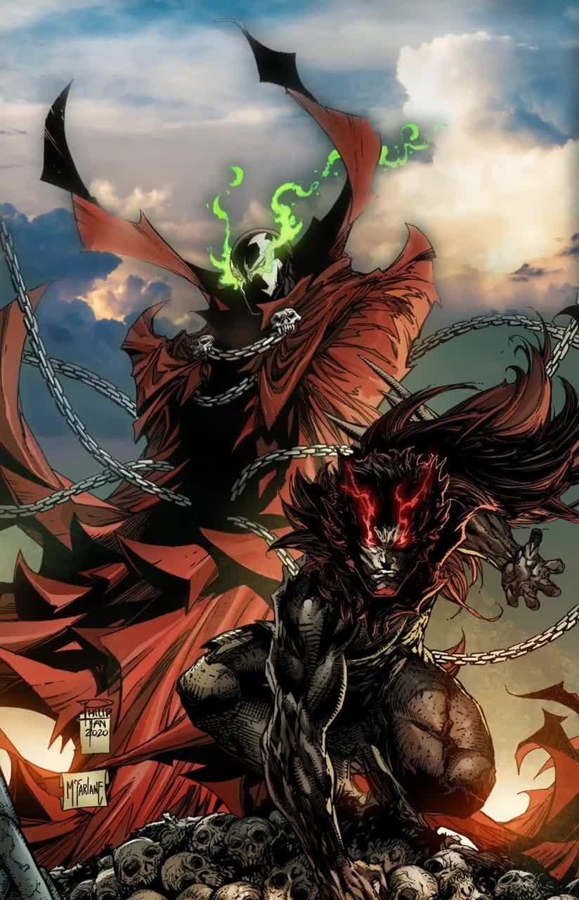 Spawn is back with art by the legend @toddmcfarlane and #PhilipTan! Grab new issue on Heroes Cave!
