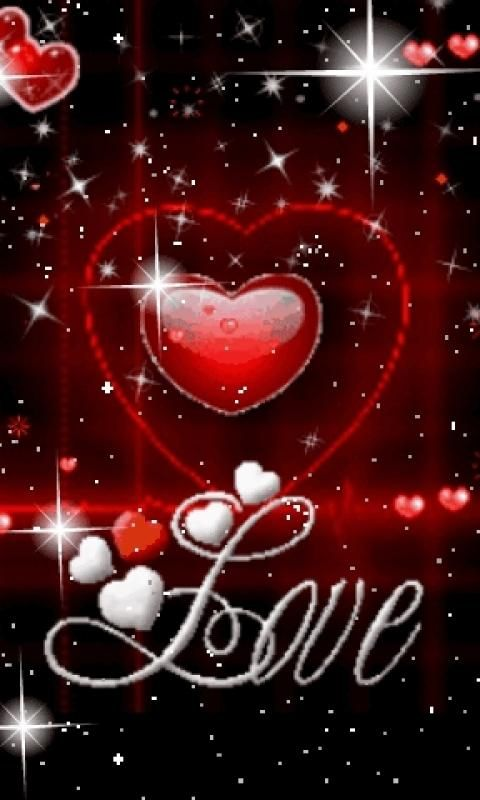 Beautiful Love Wallpapers For Mobile Heart Gif Animated Heart Love Wallpaper