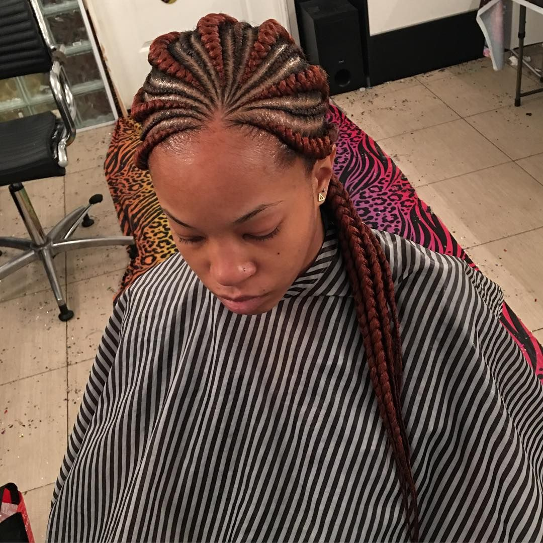 Latest Ghana Braids Hairstyles: 25 Beautiful Ghana Braids Styles & Pictures