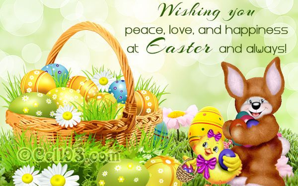 Wishing You Peace Love And Happiness At Easter And Always Easter Easter Quotes Easter Images Happy Easter Happy Easter Quotes Easter Image Quotes Easter Q Pasen