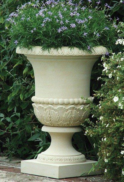Campana Vase Stone Planter Stone Planters Planters Flower Pots