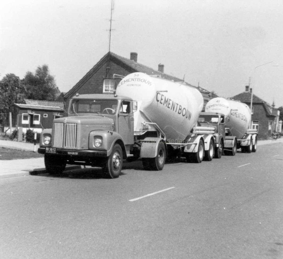 Scania Vabis Bb 38 12 Heemex Mies Janssen 1967 Foto Piet Pietjouw Vrachtwagens
