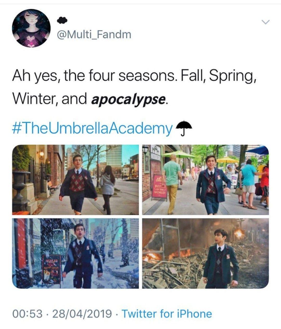 Nx On Twitter Umbrella Funny Umbrella Academy