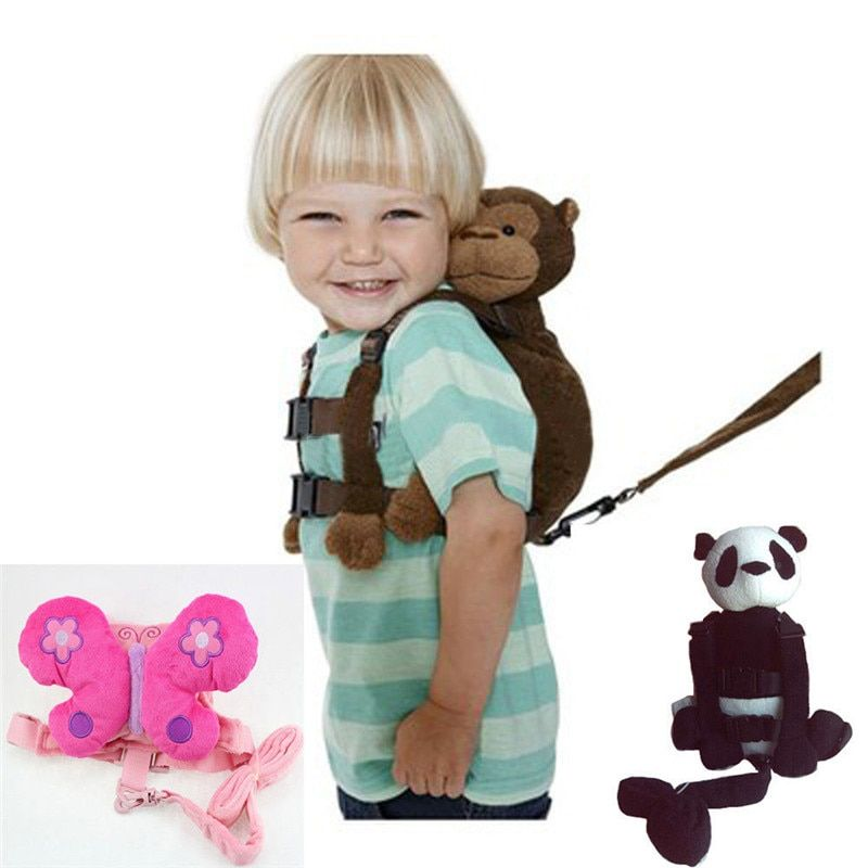 Monkey 2 In 1 Baby Kids Keeper Assistant Toddler Walking Safety