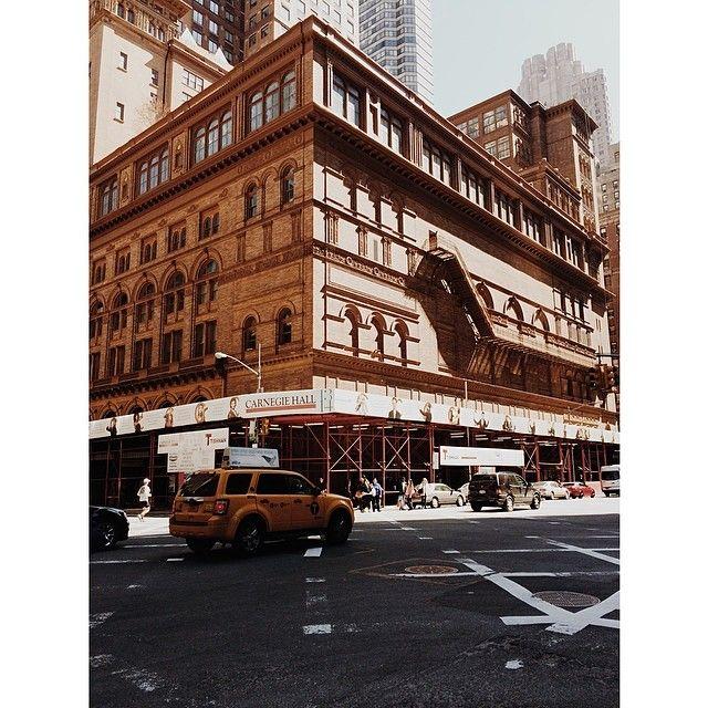 Carnegie Hall, NYC #newyorkcityinspired