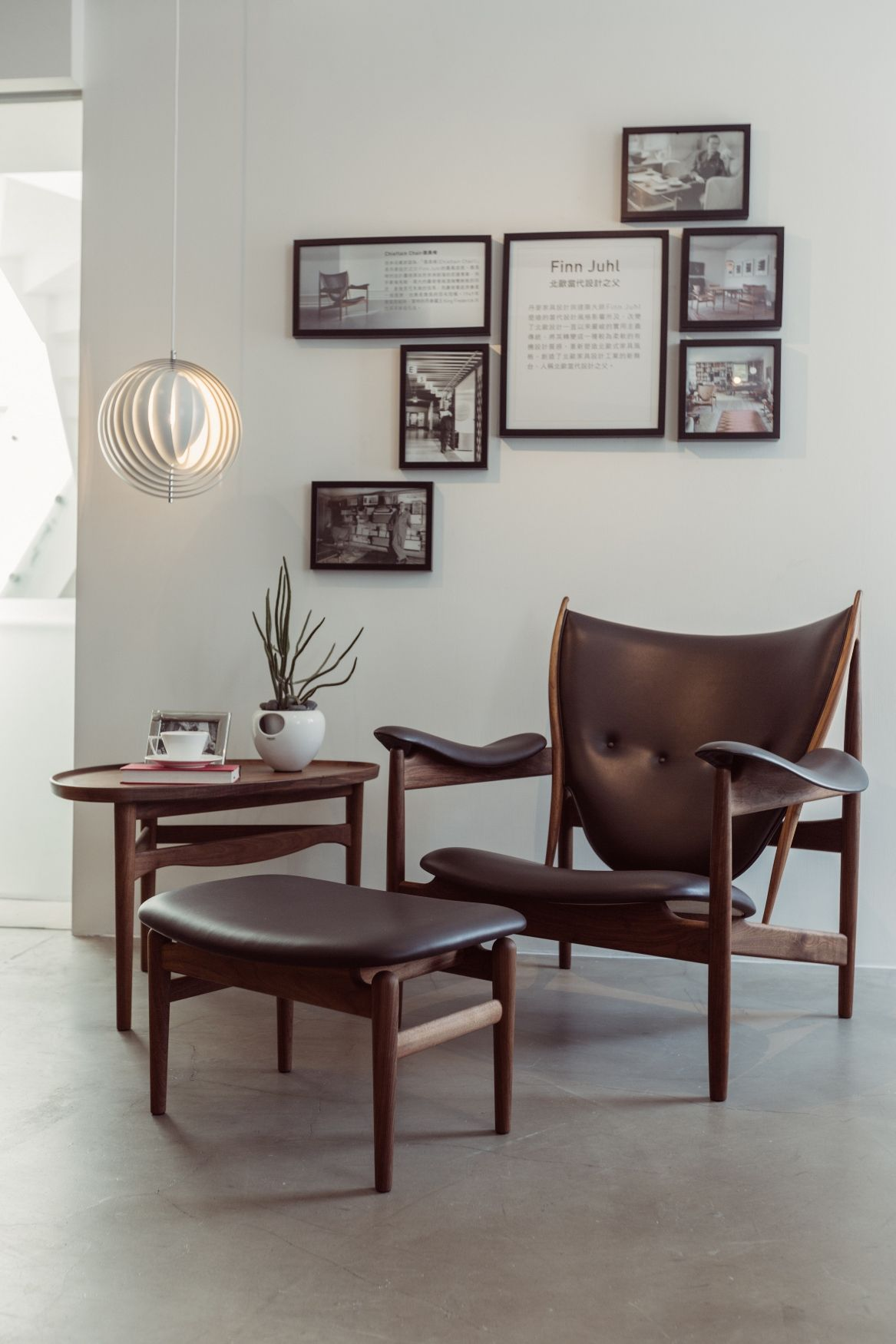 iconic designer furniture. The Iconic Chieftain Chair, Designed By Danish Designer Finn Juhl In 1949, Completed Furniture C