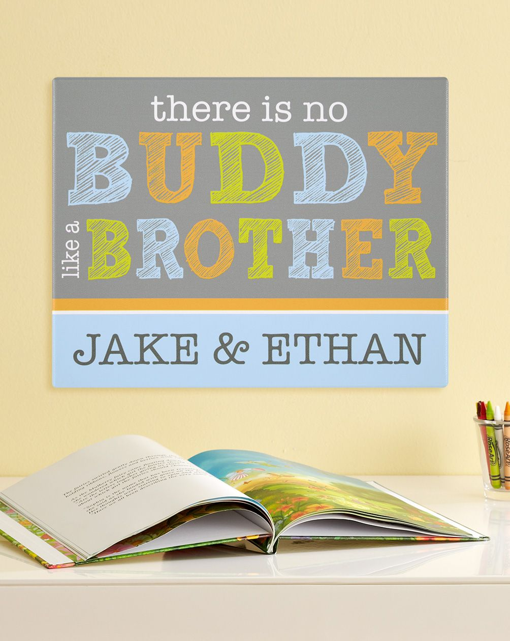 Like a Brother Canvas Artwork | Canvas artwork and Canvases