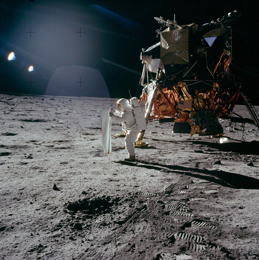 Details about the Apollo 11 journey to the Moon and its impact on America and the world