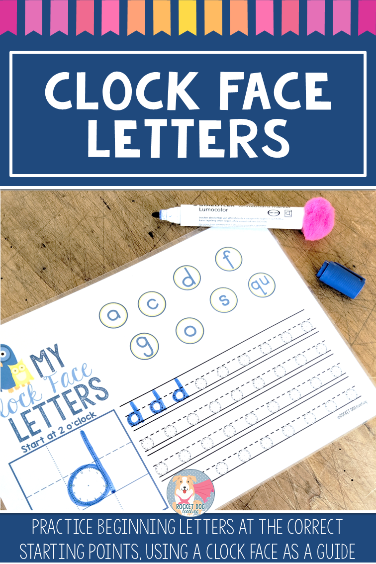 Are You After Some Help Teaching Correct Letter Formation These Clock Face Letter Cards Are A Great Visual Re Preschool Letters Clock Face Alphabet Preschool [ 1134 x 756 Pixel ]
