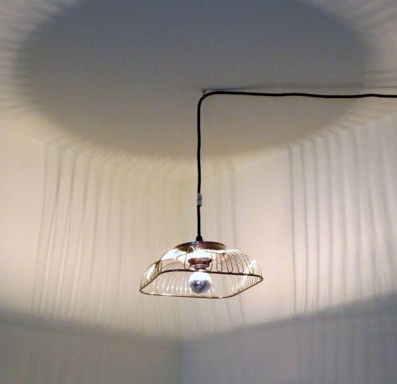Arachnid pendant light - plug-in or hardwire  —