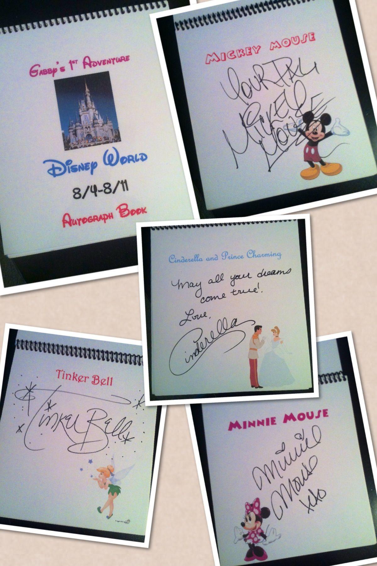 Diy Character Autograph Book