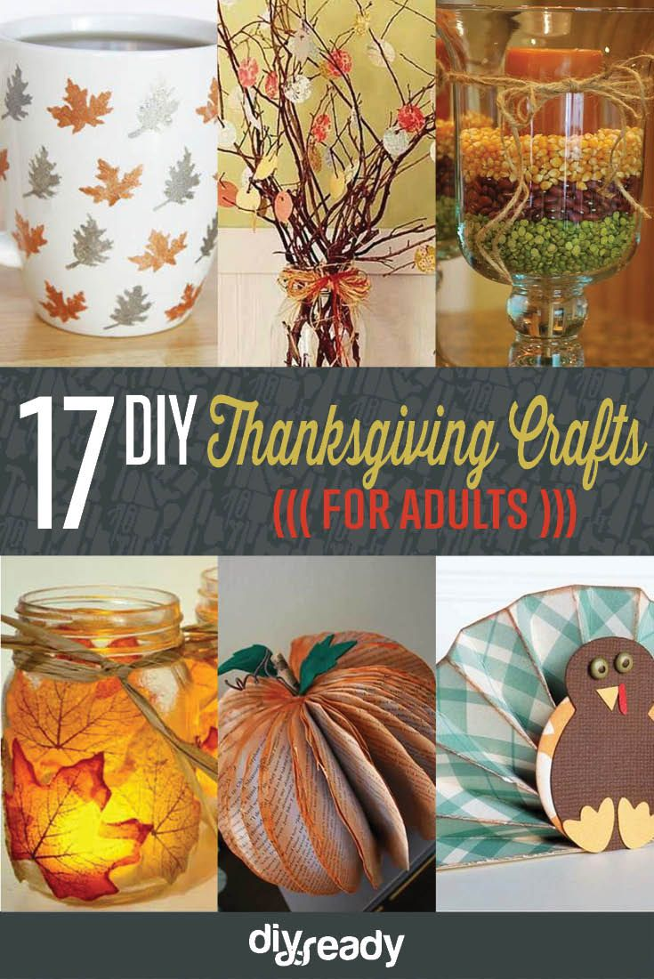 21 Amazingly Falltastic Thanksgiving Crafts For Adults Projects