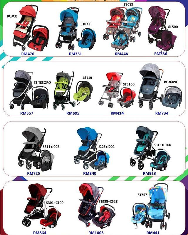 . TRAVELLING SET STROLLER & CARSEAT . YEAR END SALE 2018