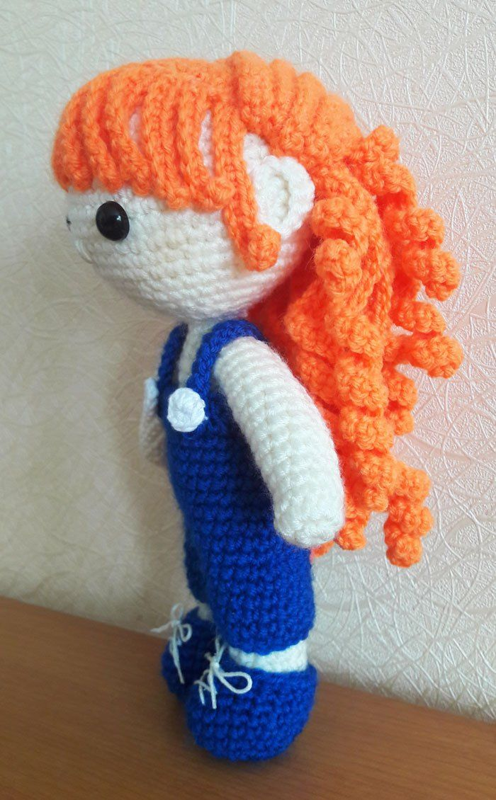 Muñeca Julie modelo amigurumi - gratis | Puntadas | Pinterest ...