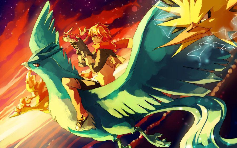 Pokemon : Fly together by Sa-Dui.deviantart.com on @deviantART