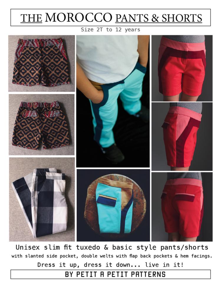 MOROCCO Pants & Shorts | Nähideen