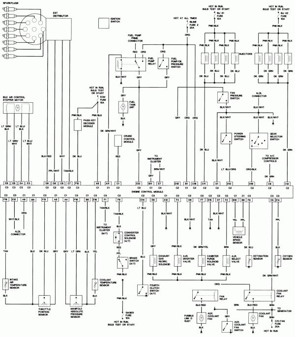 1993 Chevy Truck Wiring Diagram And Wiring Diagram Chevy