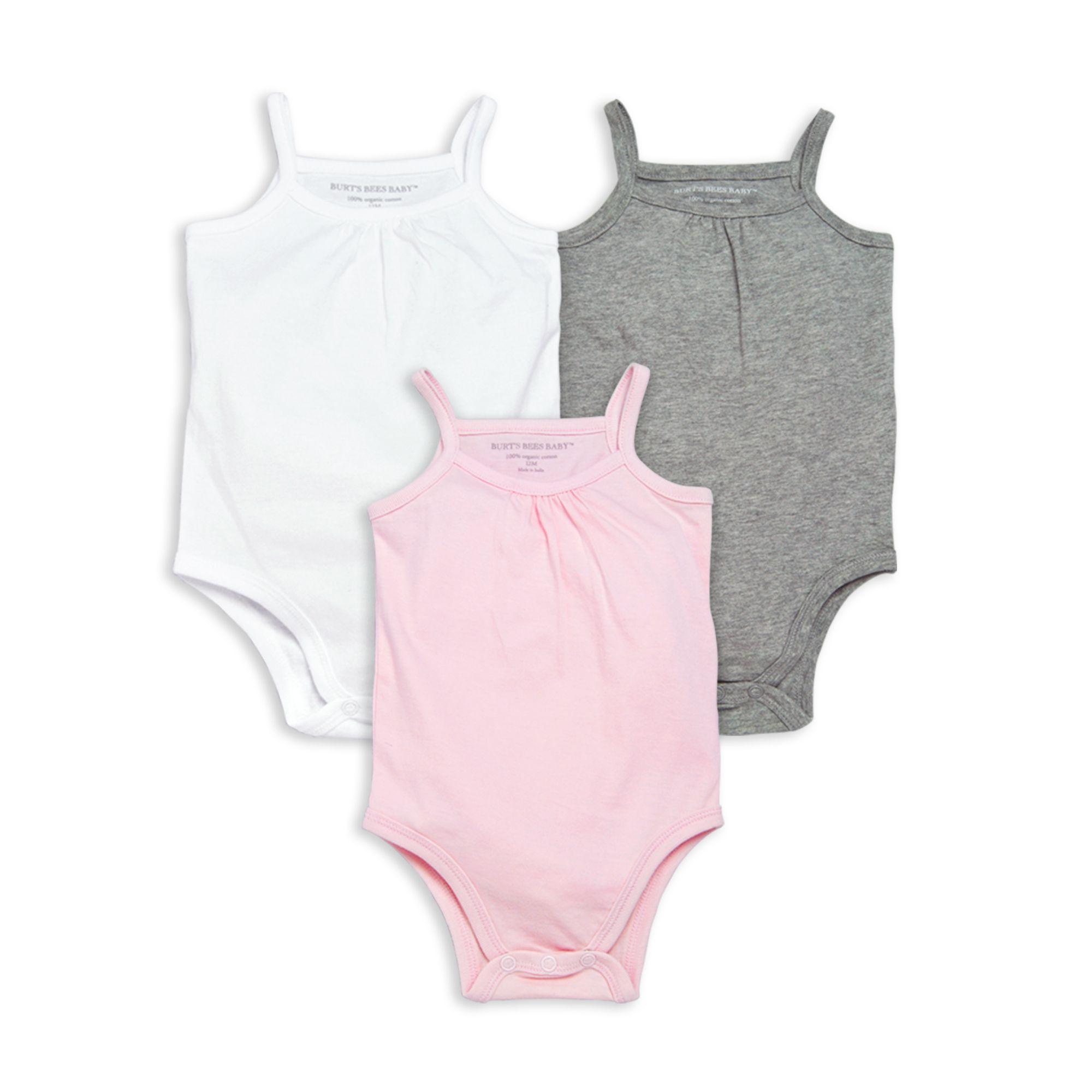 Classic Organic Baby Bodysuit 3 Pack In 2020 Organic Baby Bodysuit Burts Bees Baby Baby Bodysuit