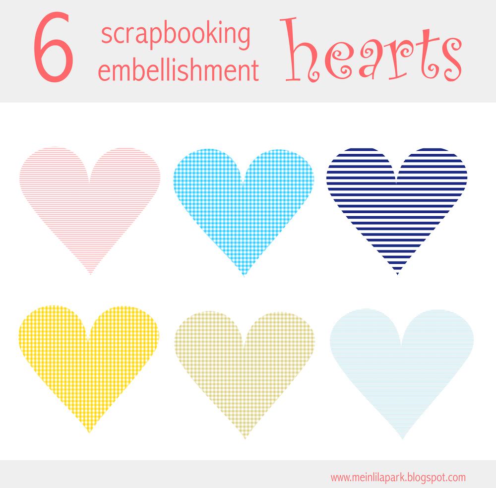 free heart scrapbooking embellishment and scrap heart png herz rh pinterest com free scrapbooking clipart free scrapbooking clip art