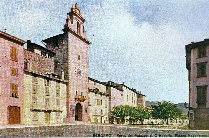 Piazza Mascheroni A Colori 1905