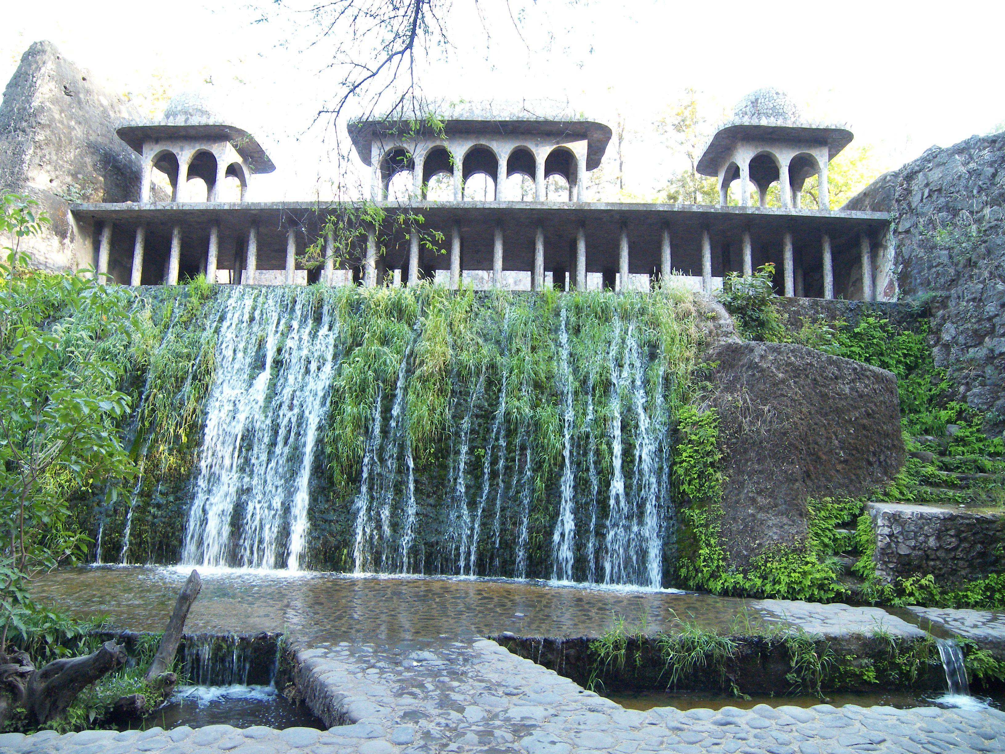 Chandigarh Rock Garden Hd Wallpaper India Holidays Travel