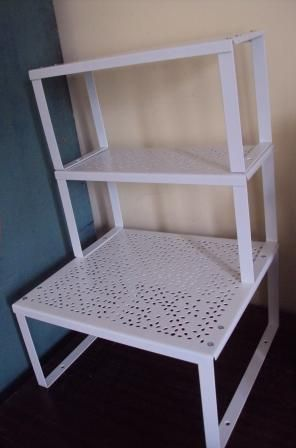 Variera Shelf Insert White Small And Can Be Attached To Customized