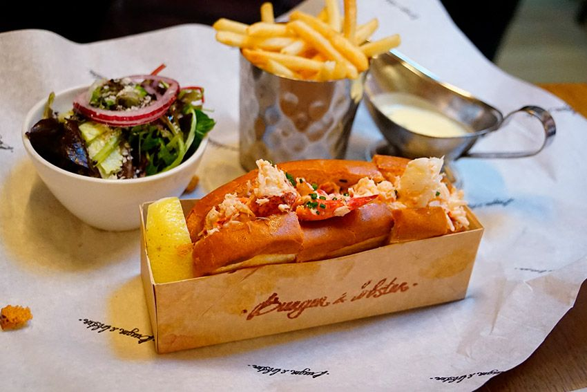 Burger Lobster Uno De Los Restaurantes Donde Comer Barato En Londres Comer En Londres Comida Mejores Hamburguesas