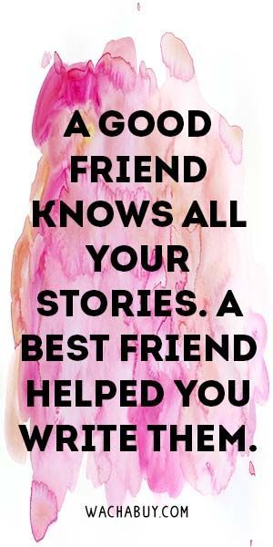 #quote #inspiration / Inspiring Friendship Quotes For Your Best Friend