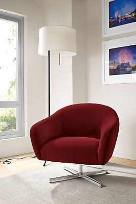 Designer Swivel Chairs For Living Room Prepossessing Crane Floor Lamps  Swivel Chair Living Rooms And Modern Floor Lamps Design Ideas