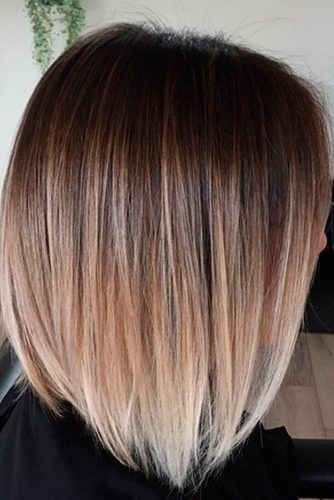 fabulous brown ombre hair