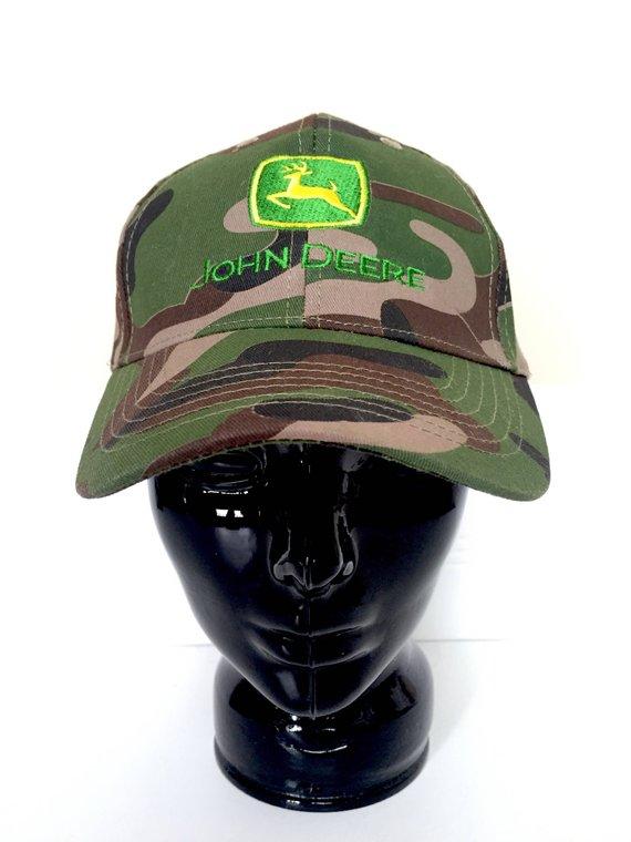 8de67803f1c Vintage John Deere Hat - Camo Hat Men - Mens Hat Camouflage - Trucker Hat -  Baseball Hat - Mens Hats